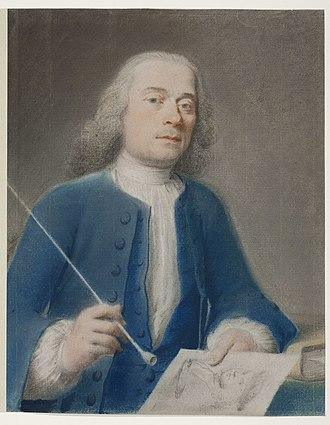 Cornelis van Noorde - Selt-portrait