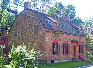 Claverack, New York - Cornelius Muller House in Claverack