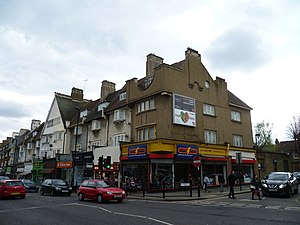 Green Lanes (London) - Green Lanes in Palmers Green.