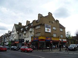 Green Lanes (London) - Green Lanes in Palmers Green.