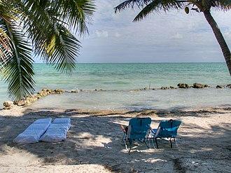 Corozal Town - Image: Corozal Beach, Corozal, Belize 2