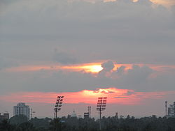 Corporation Stadium Kozhikode Flood Lights