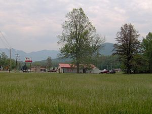 Cosby, Tennessee - Cosby area