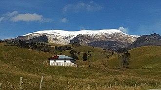 Los Nevados National Natural Park - Image: Costado Oriental Nevado del Ruíz (Cumanday) Murillo, Tolima