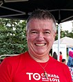 Councillor Paul Ainslie at one of his Community BBQs (cropped).jpg
