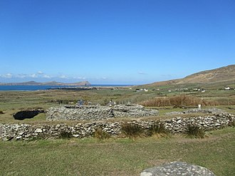 Caherdorgan North - View of the fort