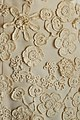 Cream evening gown by Sybil Connolly - crochet detail.jpg