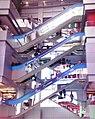 Crisscross Layout Escalator in MBK Mall, Bangkok, Thailand.jpg