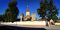 Cristian - ansamblul bisericii evanghelice fortificate - vedere spre latura estică.jpg