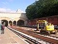 Crystal Palace station, London Overground works - geograph.org.uk - 2215470.jpg