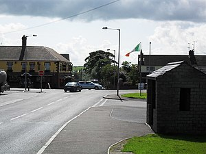 Cullaville - Image: Culloville village geograph.org.uk 1447326