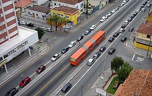 Bus rapid transit in Brazil - Bus rapid transit in Curitiba.