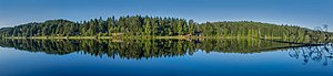 Cusheon Lake in the early morning, Saltspring Island, British Columbia, Canada.jpg