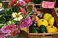 Cut Flowers and Squash for Sale at Farmers Market.jpg