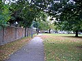 Cycle Path at edge of George Green - geograph.org.uk - 574326.jpg