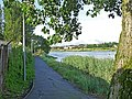 Cycle path beside the River Usk - geograph.org.uk - 1423872.jpg