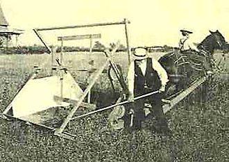 Reaper - McCormick's reaper at a presentation in Virginia