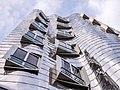 Düsseldorf - Zollhof - Gehry - Fassade BT 01.jpg