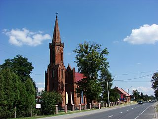 Dąbrowa Biskupia Village in Kuyavian-Pomeranian, Poland