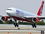 D-ABXA Oneworld (Air Berlin) Airbus A330-223 (cn 288) McCarran International Airport (7174144190).jpg