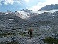 Dachstein with Hallstätter Gletscher from former glacier forefront.jpg