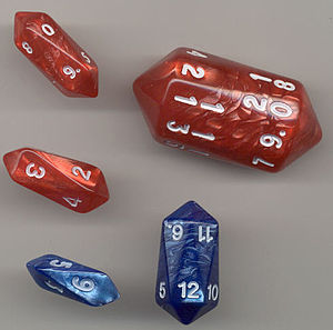 Long dice - Barrel dice