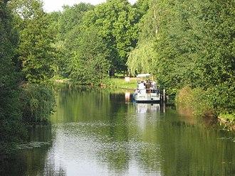 Dahme (river) - The Dahme below Märkisch Buchholz