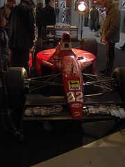 A Dallara 191 Formula One car from the 1991 season.