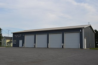 Dallas Township, Crawford County, Ohio - Fire station in Monnett