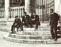 Dalmatinski veštit-povijesna fotografija iz Trogira.jpg