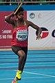 Damacline Nyakeruri of Kenya at the 2018 African Championships.jpg
