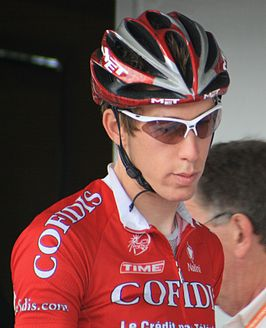 Damien Monier in de Eneco Tour 2008