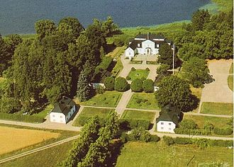 Södermanland - The cultural landscape of Södermanland is characterised by its many manor houses. Pictured: Danbyholm Manor