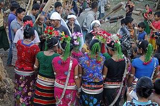 Mru people (Mrucha) - Women performing the Chiasotpoi dance.