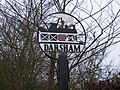 Darsham Village Sign - geograph.org.uk - 1081693.jpg