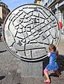 Das Rad in Silberstadt Freiberg während der Drehung..IMG 9680WI.jpg