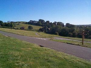 Burton Dassett - Looking towards the parish church