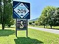 Dave's 209 Cafe Sign, Old Spring Creek School, Spring Creek, NC (50551549006).jpg