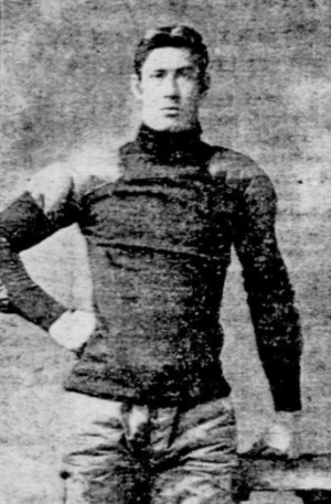 Dave Campbell (American football) - Image: Dave campbell harvard 1901