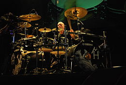 Dave McClain con i Machine Head.