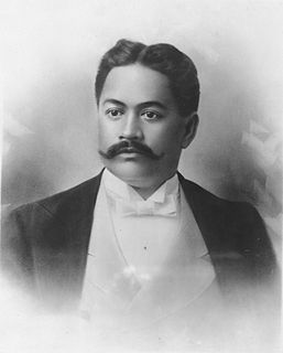 Patriarch of the House of Kawānanakoa; in line of succession to the throne of the Kingdom of Hawaiʻi