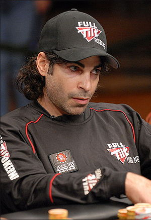 David Singer at the National Poker League Vega...