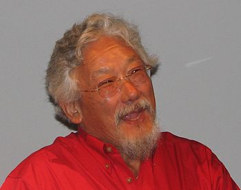 English: David Suzuki, Canadian environmental ...