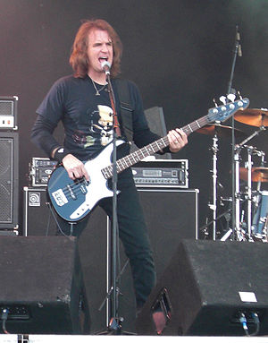 David Ellefson - Dave Ellefson on stage