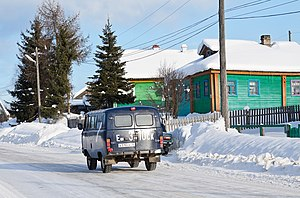 Pudozh - A street in Pudozh