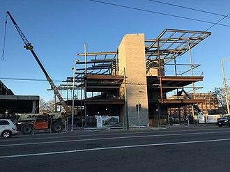 Dayton Metro Library - New Library Facility under construction
