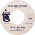 Dazed and Confused by Jake Holmes US promo vinyl.tif