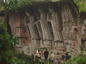 Dazu Rock Carvings on Mount Baoding