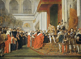 Les deputés des provinces présentent le traité d'Utrecht à Guillaume le Taciturne