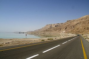 Extreme points of Earth - Dead Sea